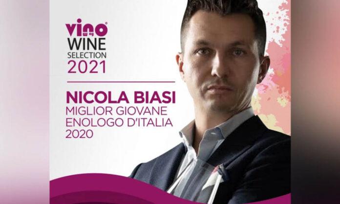 Nicola Biasi Miglior Giovane Enologo d'Italia 2020